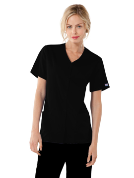 Picture of Cherokee Workwear Originals Women's Snap Front V-Neck Top