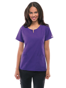 Picture of Cherokee Workwear Originals Women's Round Neck Top
