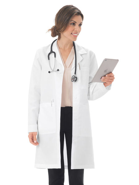 "Picture of META Classic Women's 37"" Twill Lab Coat"