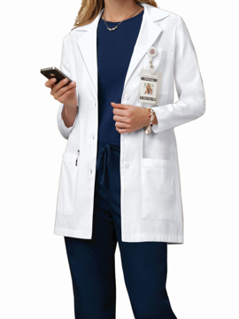 Picture of Cherokee Professional Whites Women's Long Lab Coat