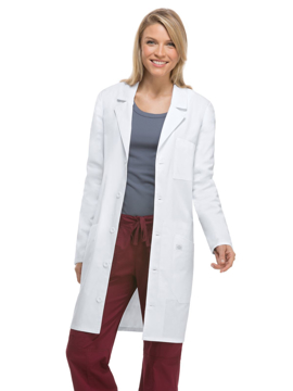Picture of Dickies Unisex Notched Collar Tablet Lab Coat