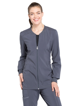 Picture of Cherokee Infinity Women's Zip Front Warm-Up Jacket