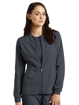Picture of White Cross Fit Women's Athletic Jacket