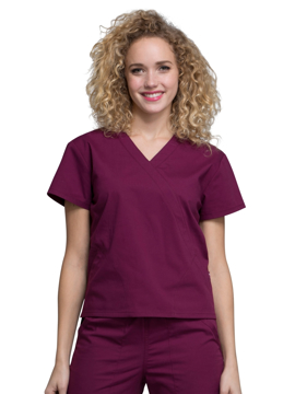 Picture of Cherokee Workwear Professionals Mock Wrap Top