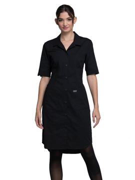 Picture of Cherokee Workwear Professionals Button Front Dress