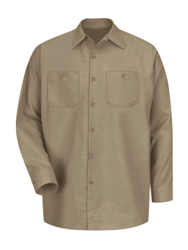 Picture of Red Kap Industrial Solid Long Sleeve Work Shirt