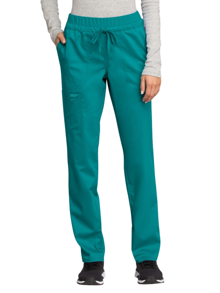 Picture of Cherokee Workwear Revolution Mid Rise Drawstring Cargo Pant