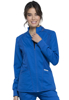 Picture of Cherokee Workwear Revolution Women's Zip Front High-Low Jacket