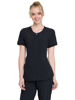 Picture of Cherokee Infinity Women's Zip Front V-Neck Top