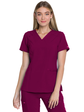Picture of Dickies EDS Essentials Women's V-Neck Top