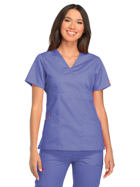 Picture of Dickies EDS Signature Women's Mock Wrap Top