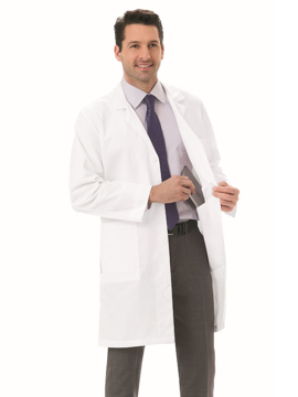 "Picture of META Classic Men's 38"" Twill Lab Coat"