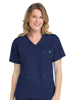 Picture of Med Couture Signature Women's V-Neck 3 Pocket Top