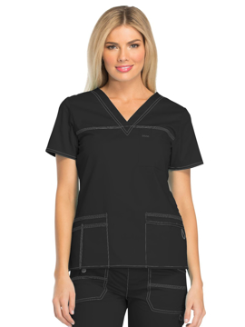 Picture of Dickies Gen Flex Women's Youtility V-Neck Top