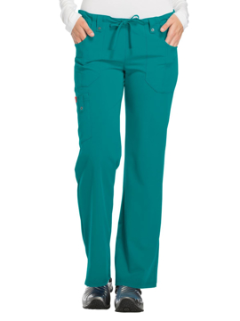 Picture of Dickies Xtreme Stretch Women's Mid Rise Drawstring Cargo Pant