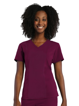 Picture of Maevn Pure Soft Women's 3-Panel V-Neck Top