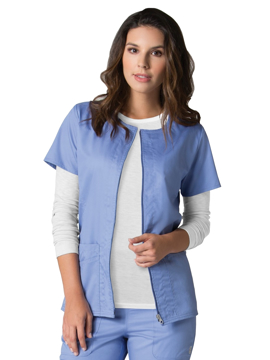 Picture of Maevn Eon Women's Back Mesh Panel Short Sleeve Zip Front Jacket