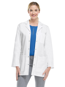 Picture of Cherokee Professional Whites Women's Snap Front Lab Coat