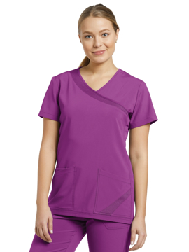 Picture of White Cross Fit Women's Mock Wrap Top