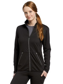 Picture of White Cross Fit Women's Zip Front Jacket