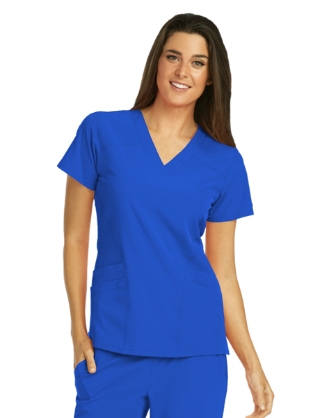 Picture of Barco One Women's Shaped V-Neck Top
