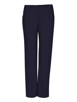 Picture of Real School Uniforms Girls Low Rise Adjustable Waist Pant