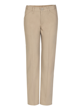 Picture of Real School Uniforms Juniors Low Rise Pant