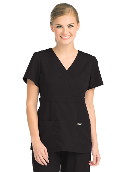Picture of Barco Grey's Anatomy™ Classic Women's Mock Wrap Top