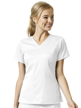 Picture of WonderWink PRO 4 Pocket V-Neck Top