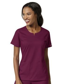 Picture of WonderWink PRO Women's 4 Pocket Notch Neck Top