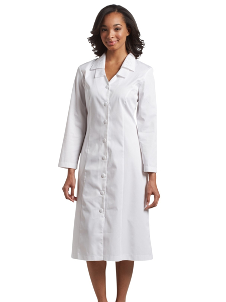 Picture of White Cross Marvella Long Sleeve Embroidered Collar Dress