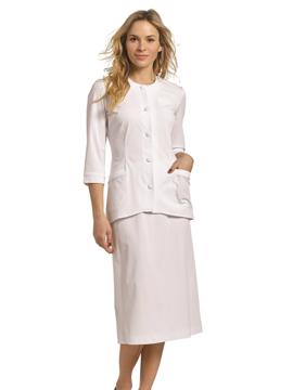 Picture of White Cross Marvella Two-Piece Skirt Dress