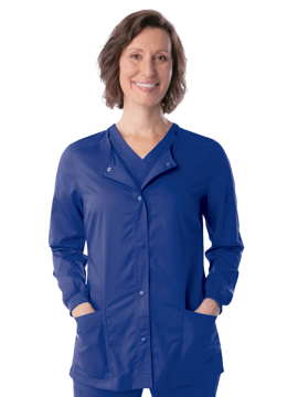 Picture of Landau Proflex Women's Snap Front Warm-Up