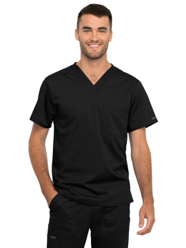 Picture of Cherokee Workwear Revolution Unisex One-Pocket Scrub Top