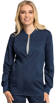 Picture of Cherokee Workwear Revolution Tech Women's Zip Front Warm-Up Jacket