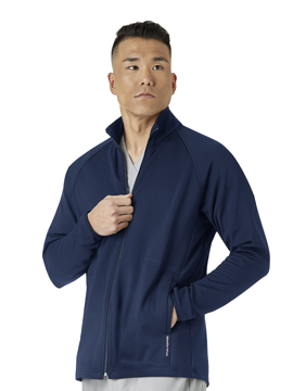 Picture of WonderWink Layers Men's Fleece Full Zip Jacket