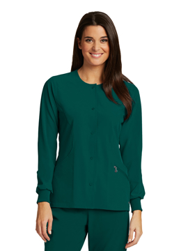 Picture of Barco One Women's Warm-Up Front Jacket