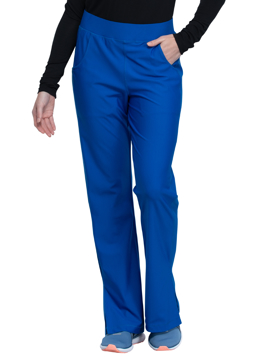 Picture of Cherokee Form Women's Mid-Rise Moderate Flare Leg Pull-on Pant