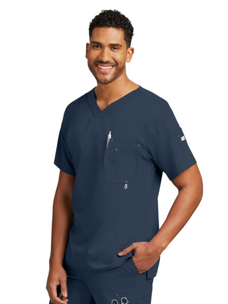 Picture of Barco Grey's Anatomy™ Classic Men's Open V-Neck Top