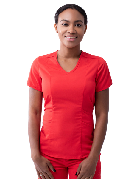 Picture of Adar Pro Women's Tailored V-Neck Top