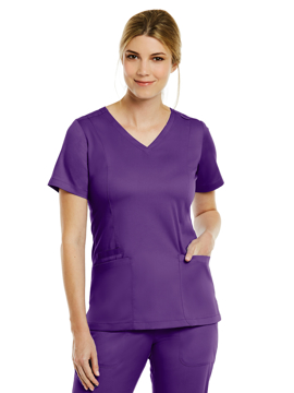 Picture of Maevn Matrix Women's Double V-Neck Top