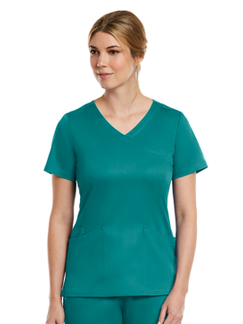 Picture of Maevn Matrix Women's Curved Mock Wrap Top
