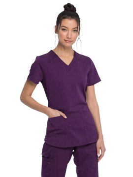Picture of Dickies Balance Women's V-Neck Top