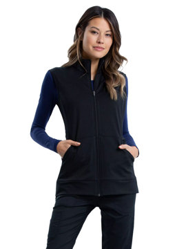 Picture of Cherokee Workwear Revolution Women's Zip Front Knit Vest