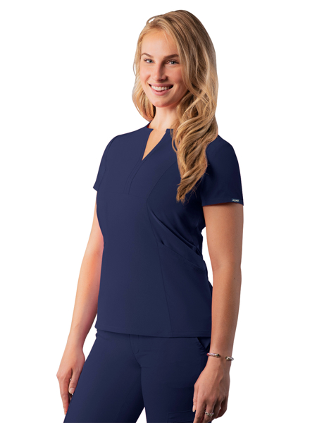 Picture of Adar Addition Notched V-Neck Scrub Top