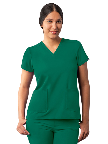 Picture of Adar Addition  Modern V-Neck Scrub Top