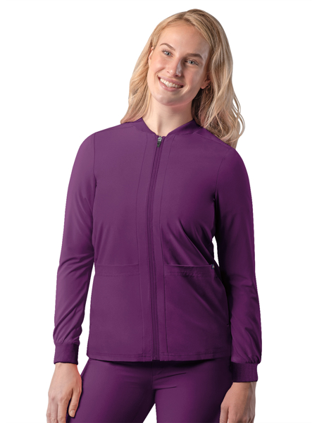 Picture of Adar Addition Women's Bomber Zipped Jacket