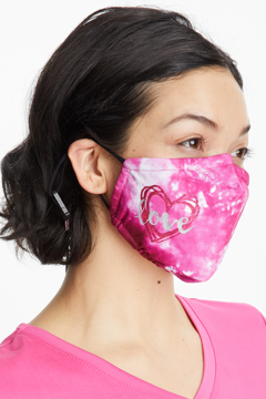 Picture of Healing Hands PPE Shay Heart Collection Washable Cloth Mask