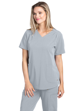 Picture of White Cross Marvella Women's V-Neck Pleated Top