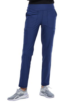 Picture of Cherokee Form Women's Mid Rise Slim Straight Pull-on Pant